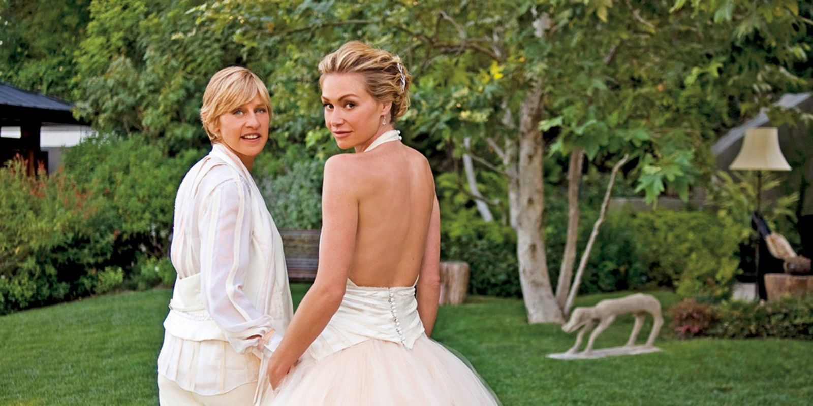 Ellen and portia age difference