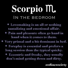How to know if scorpio man is into you