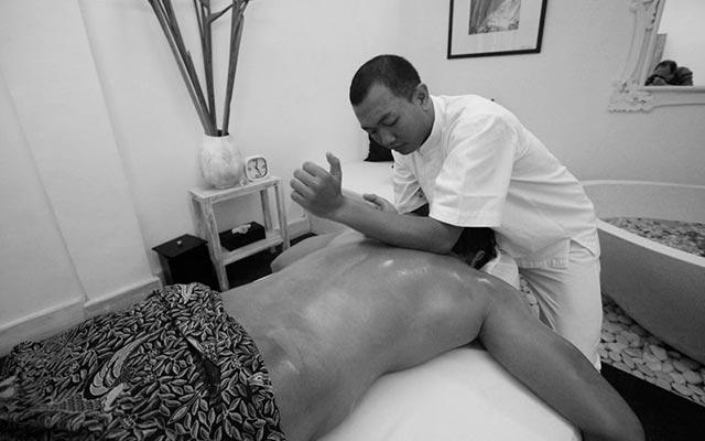 Black gay massage