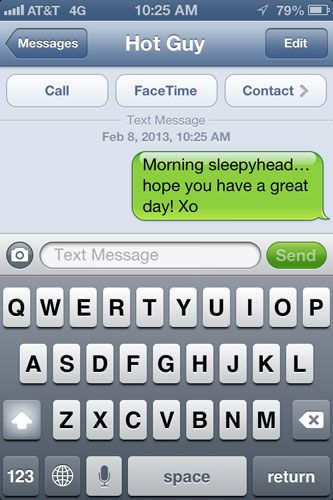 Hot text messages for him