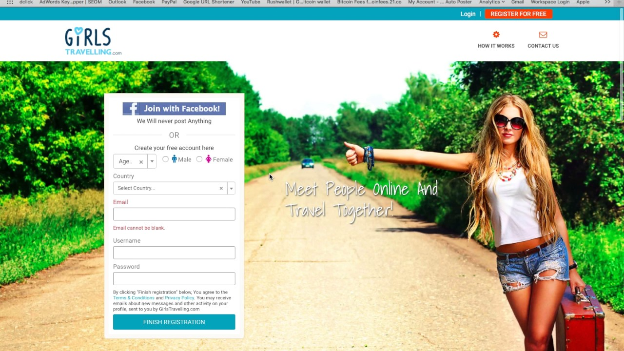 Travelgirls website review