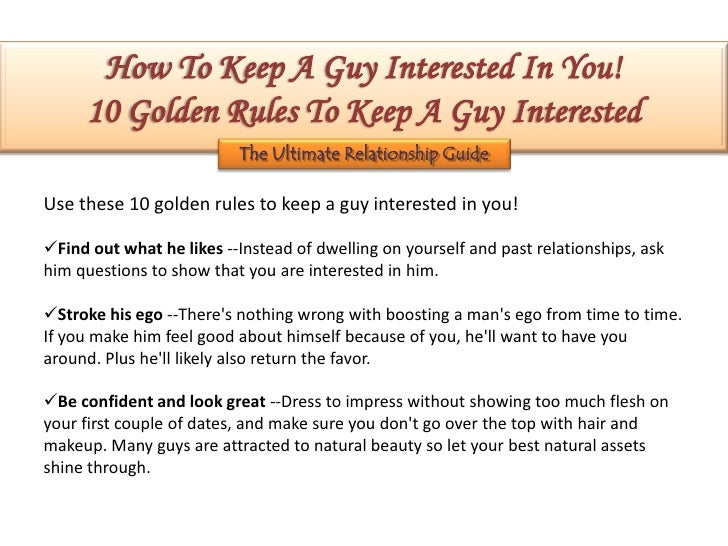 How to keep a guy interested in you through text