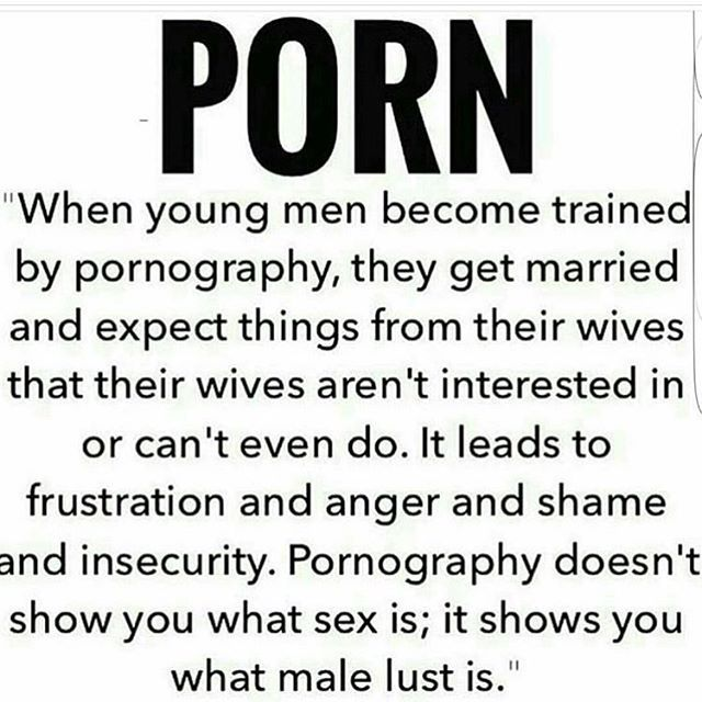Porn ruins relationships