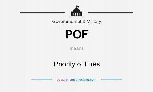 What is pof mean