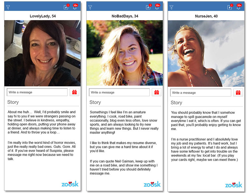 Creative dating profile examples