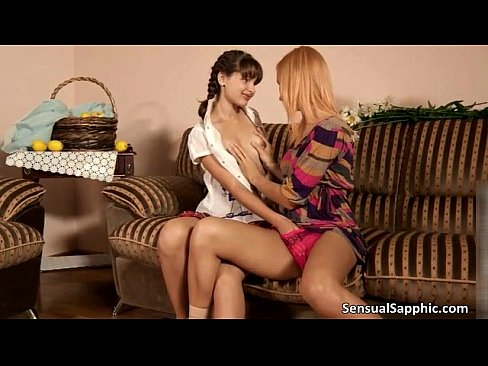 Hot and horny lesbian