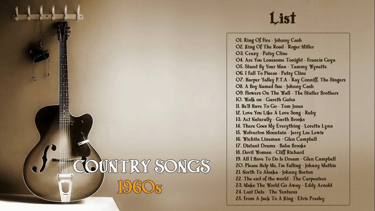 Oldie country songs