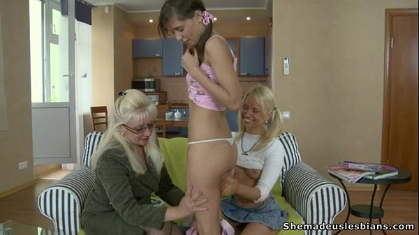 Mature women seducing younger girls