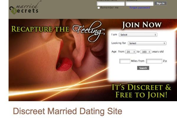 Website for married couples to cheat