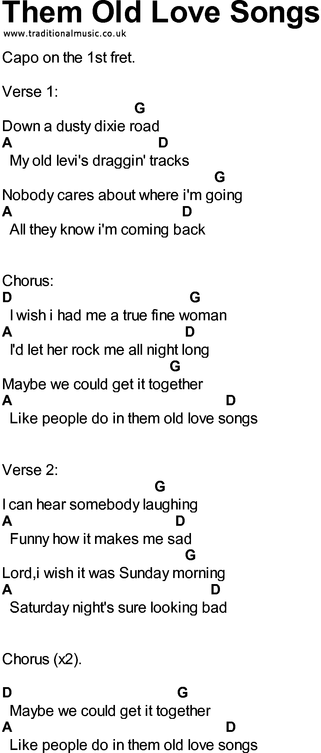 Songs with love in them