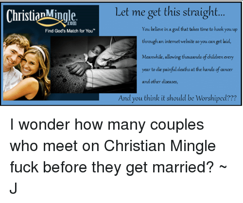 Go to christianmingle.com