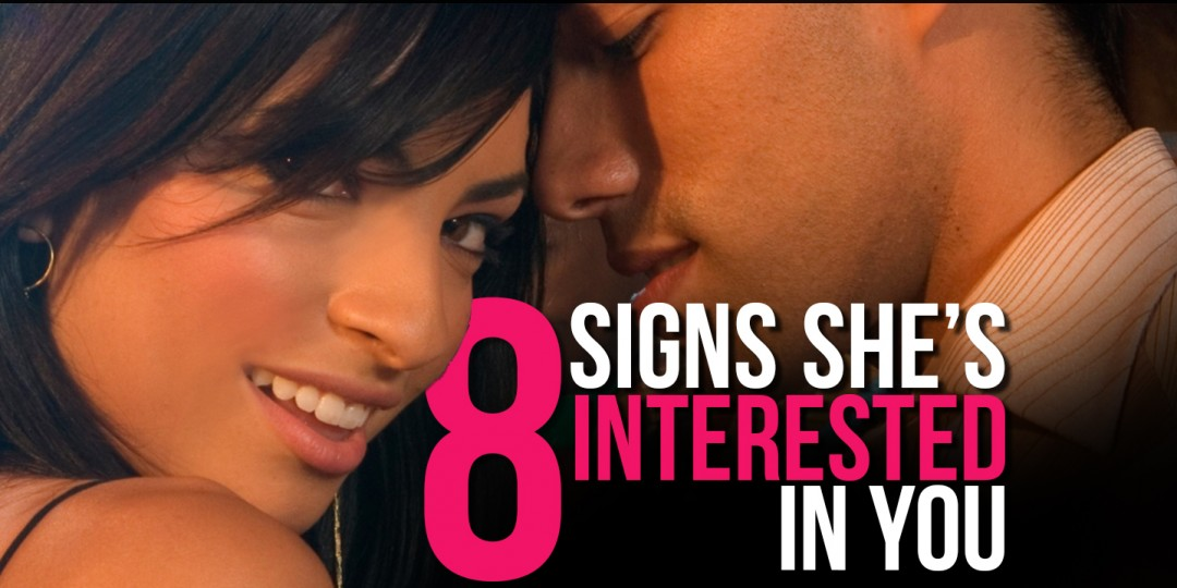 Signs shes interested