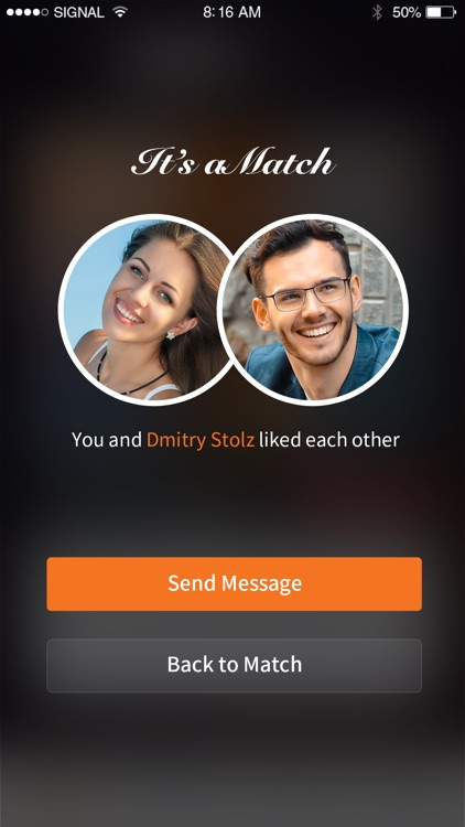 Match and hookup