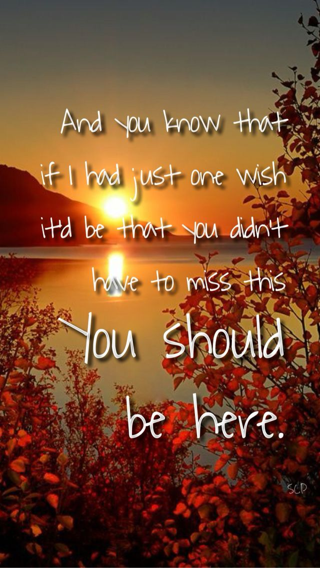 Country miss you songs