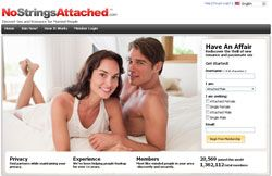 Extramarital affairs website