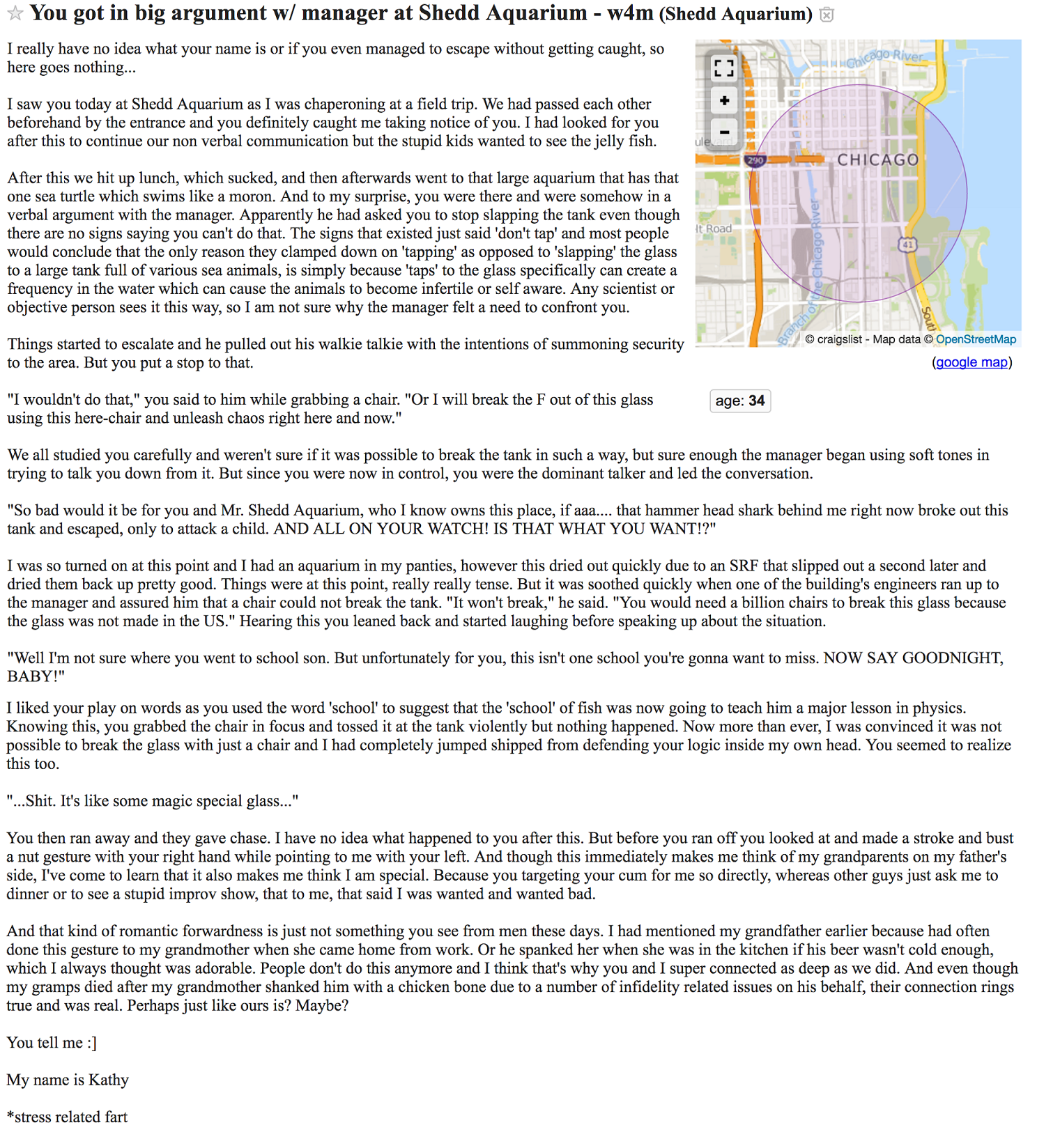 Places to post missed connections like craigslist
