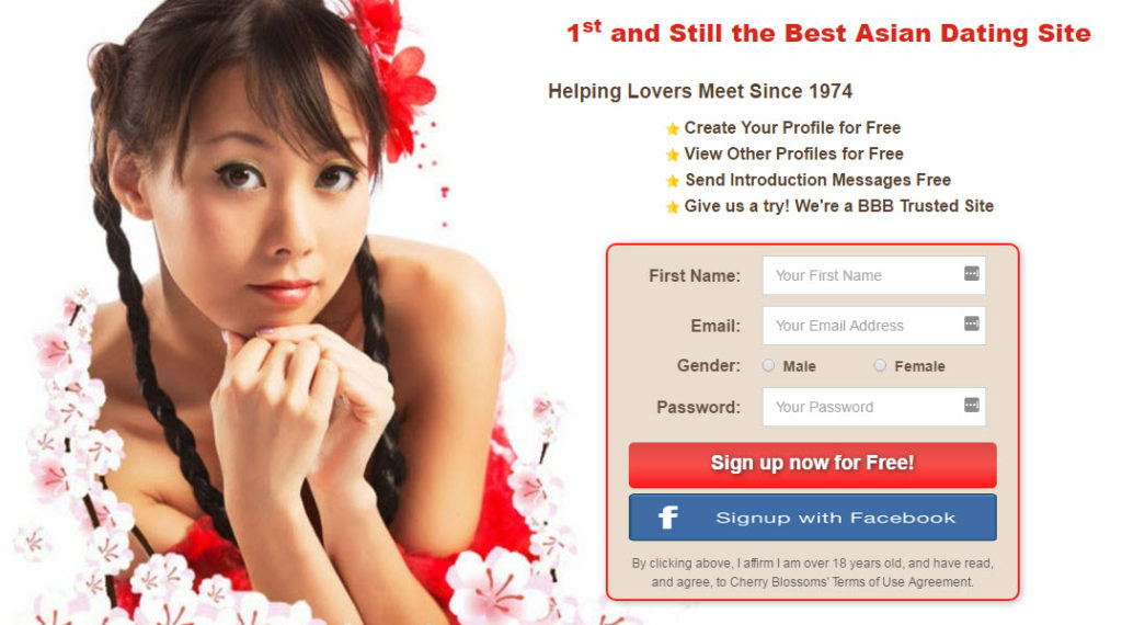 Cherry blossom dating review