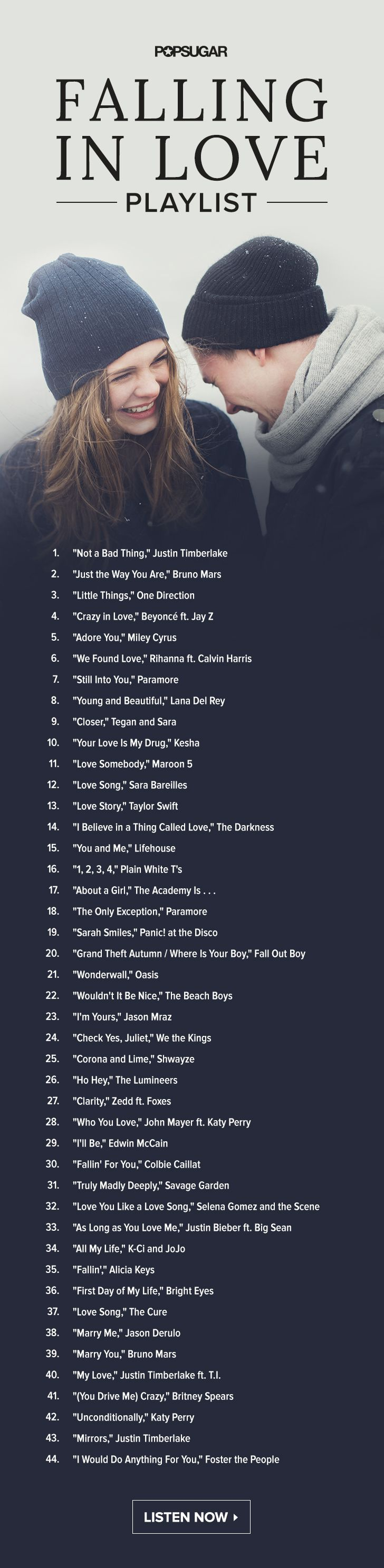 Best love song bands