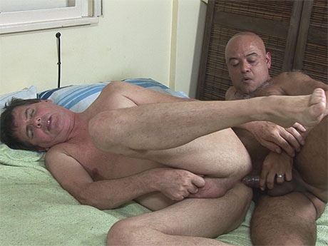 Gay mature daddy fuck