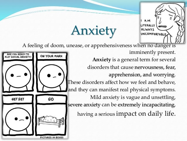 Anxiety feeling of doom
