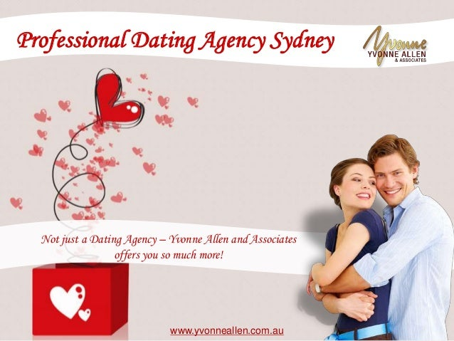 Professional dating agencies