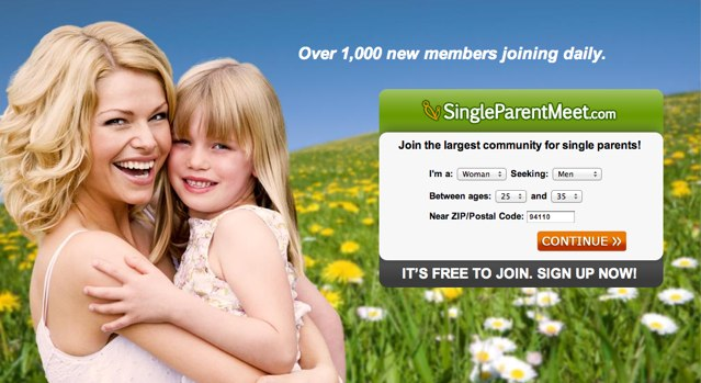 Single parent meet login