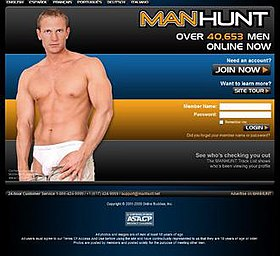Manhunt hookups