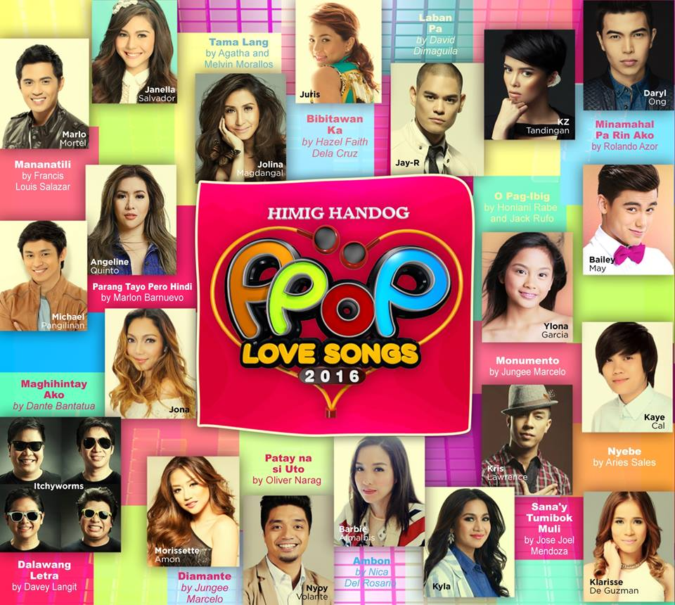 Famous pop love songs