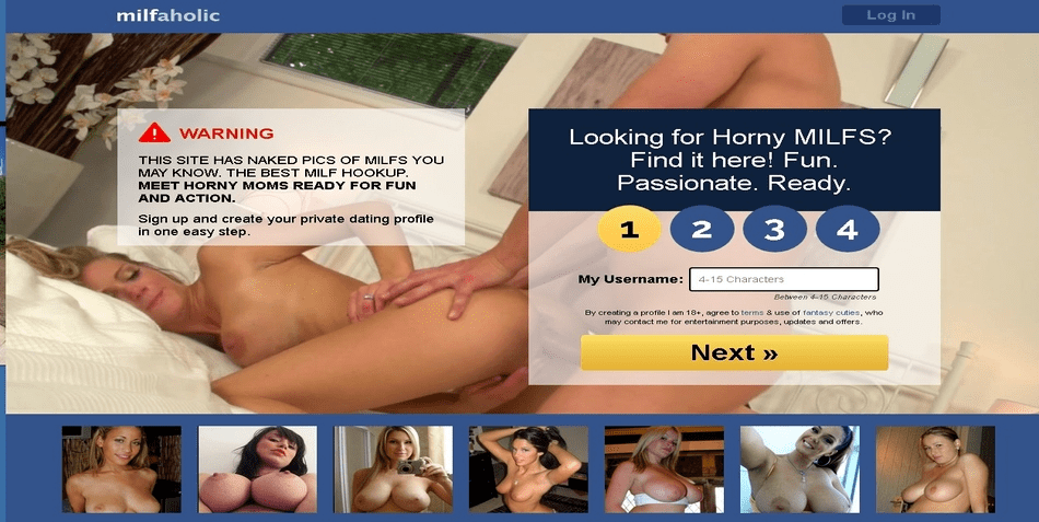 Milfaholic dating