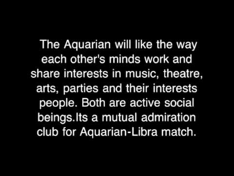 Libra & aquarius romantic compatibility