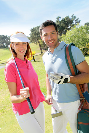 Singles golf dating