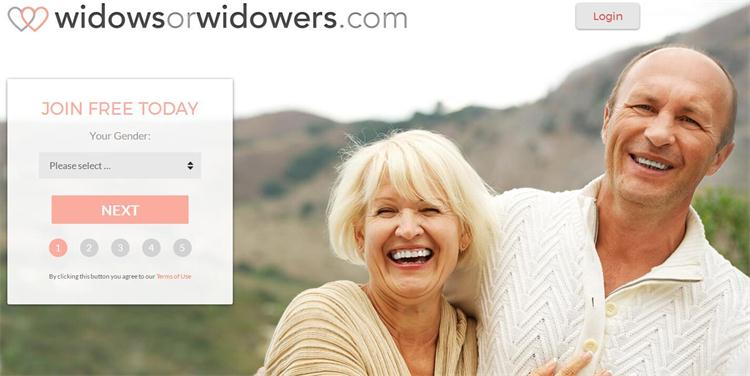 Dating site for widows and widowers