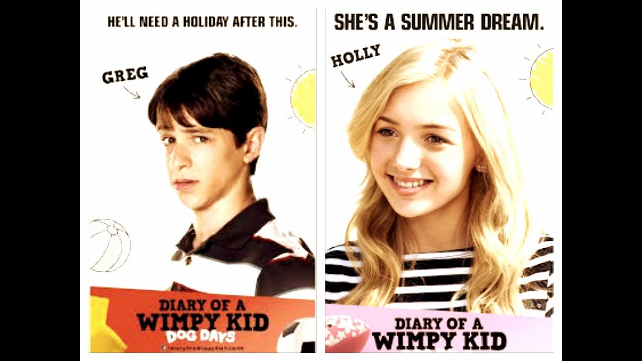 Diary of a wimpy kid holly and greg kiss