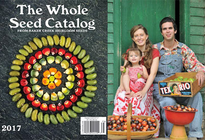 Baker creek heirloom seeds catalog