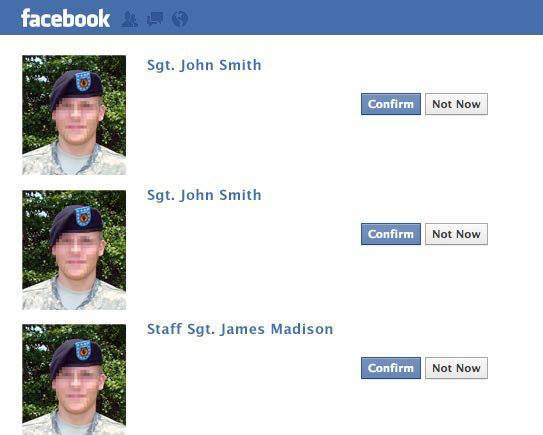 Military cupid fake profiles