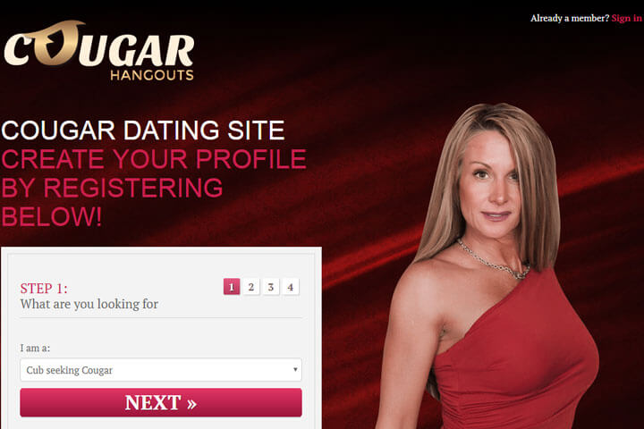 Legit cougar dating websites