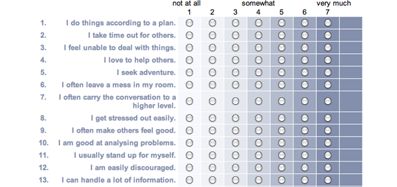 Eharmony questionnaire questions