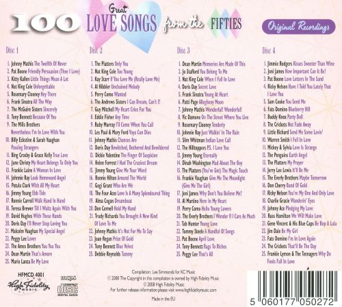 Oldies love songs list