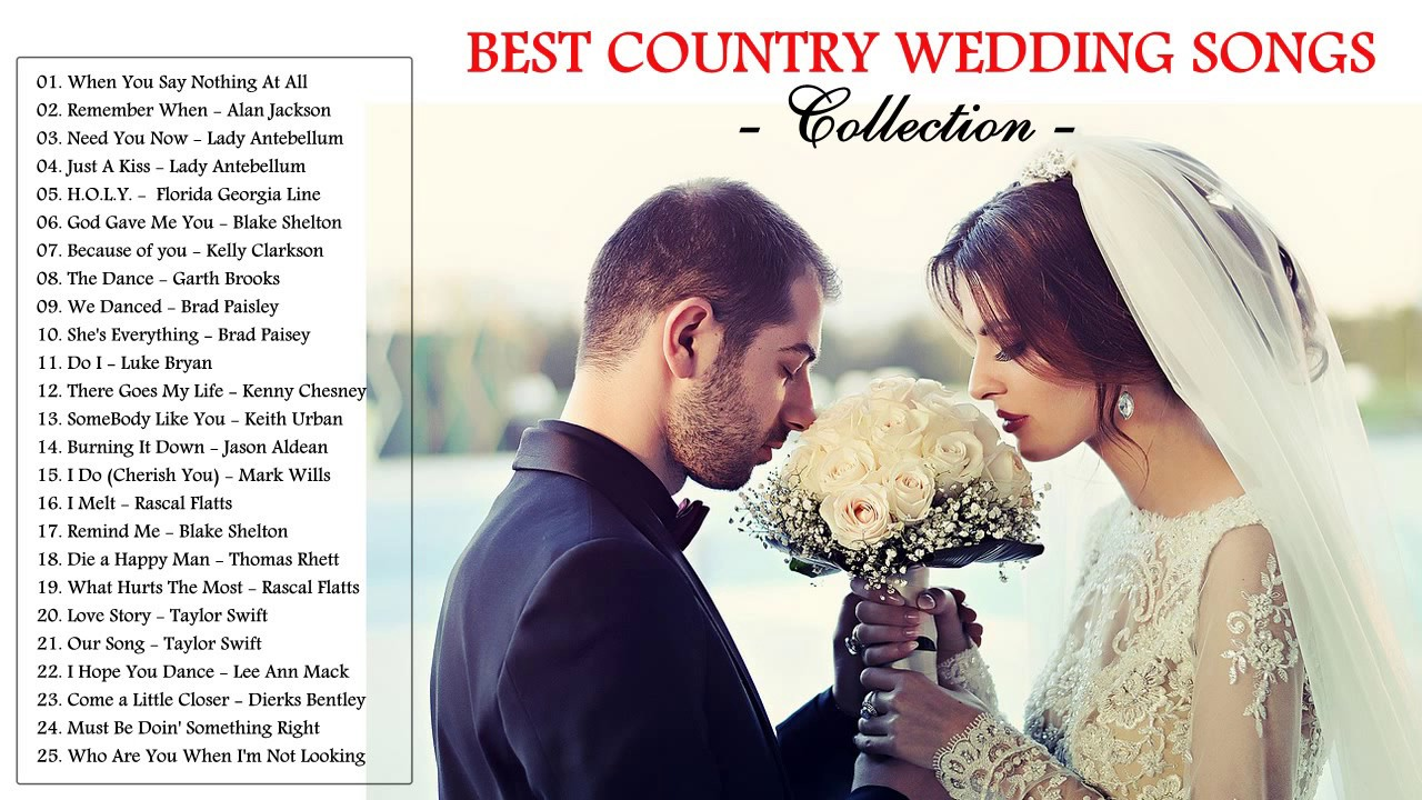 Best wedding songs of all time