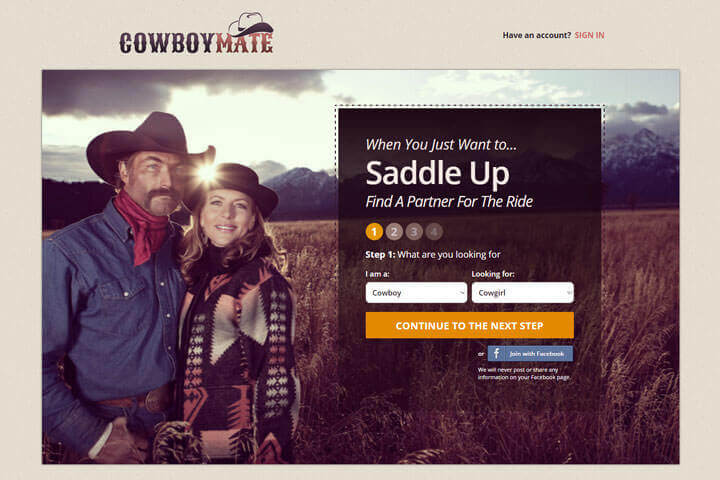 Cowboy dating services
