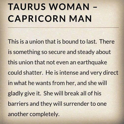 Are taurus and capricorns compatible