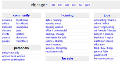 Chicago craigslist org personals