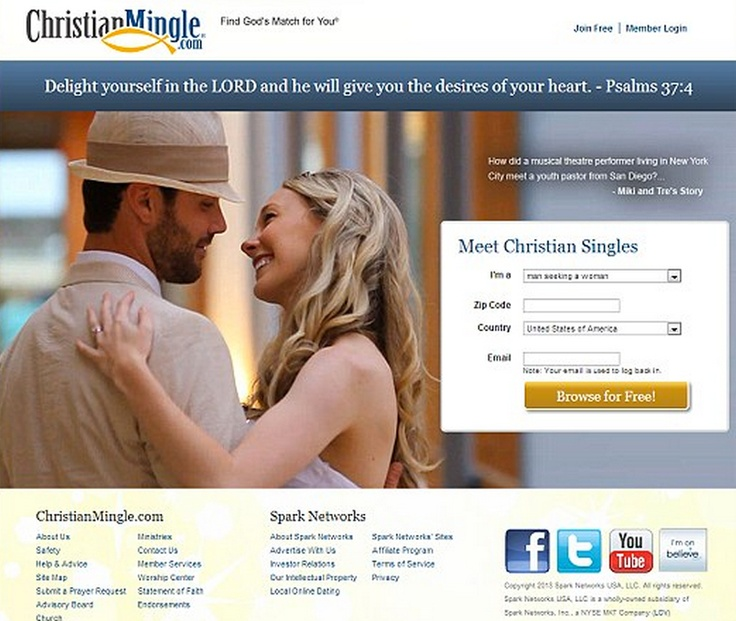 Dating websites for young adults