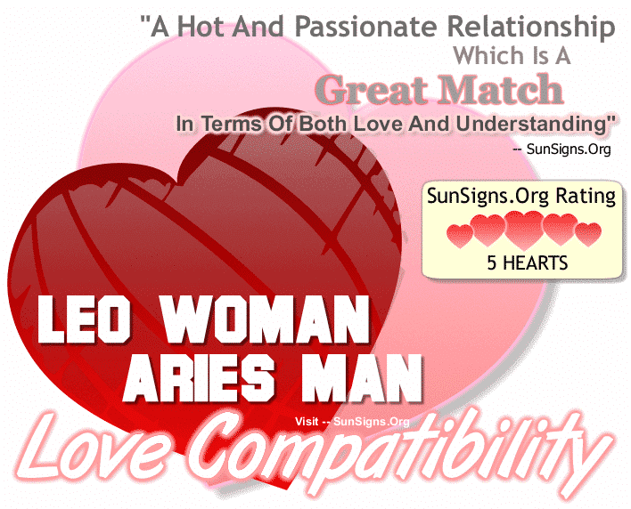 What sign is most compatible with leo female