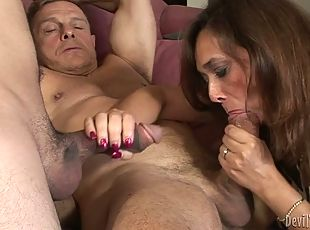 Bisexual mature