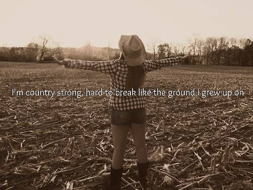 Country songs about girl