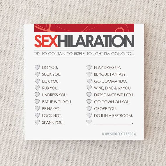Sex coupon ideas for him