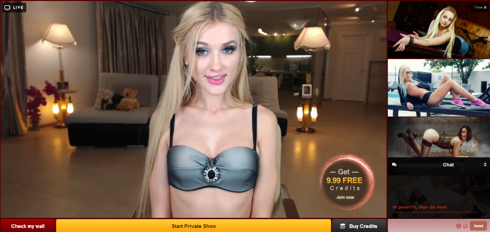Video live sex chat