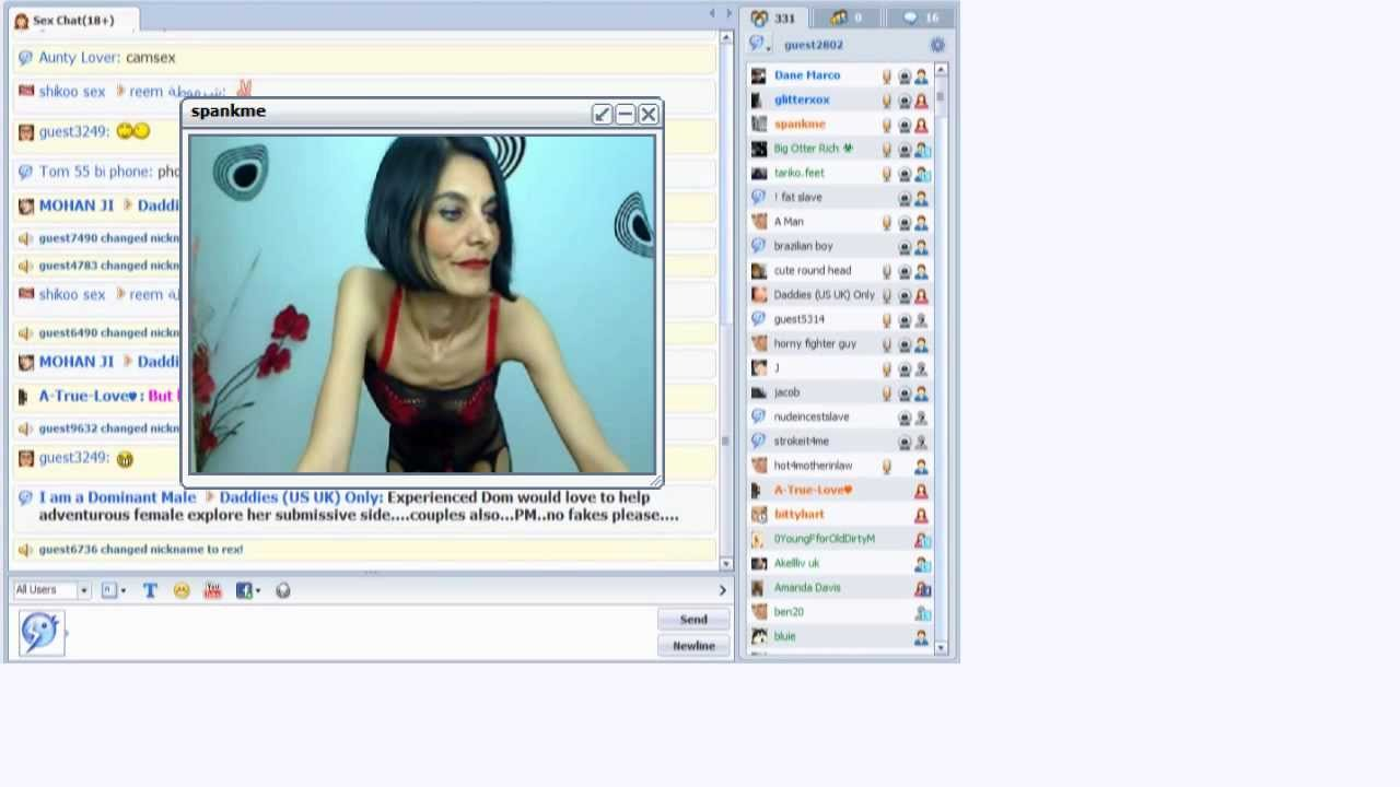 Video sex chat for free