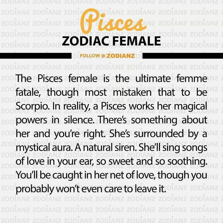 Best match for pisces woman